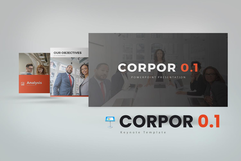 "Modello Keynote #156092 ""Corpor 0.1"""