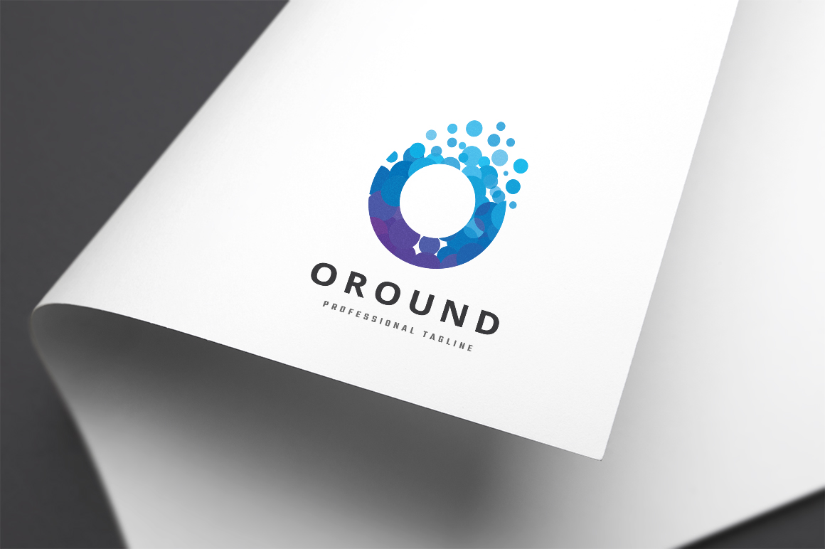 Oround Letter O Template de Logotipo №156017