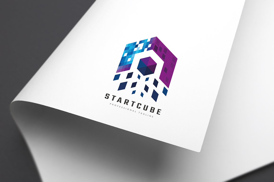 Start Cube Template de Logotipo №156070