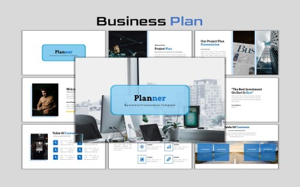 Planner - Creative Business Plan PowerPoint Template