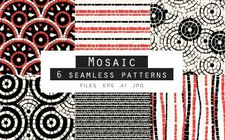 Mosaic Seamless Vector