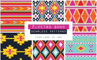 Boho Seamless Vector