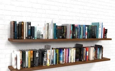 100 Books Set 3D Model