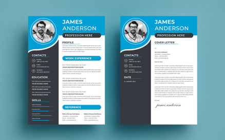 Professional James Anderson Resume Template