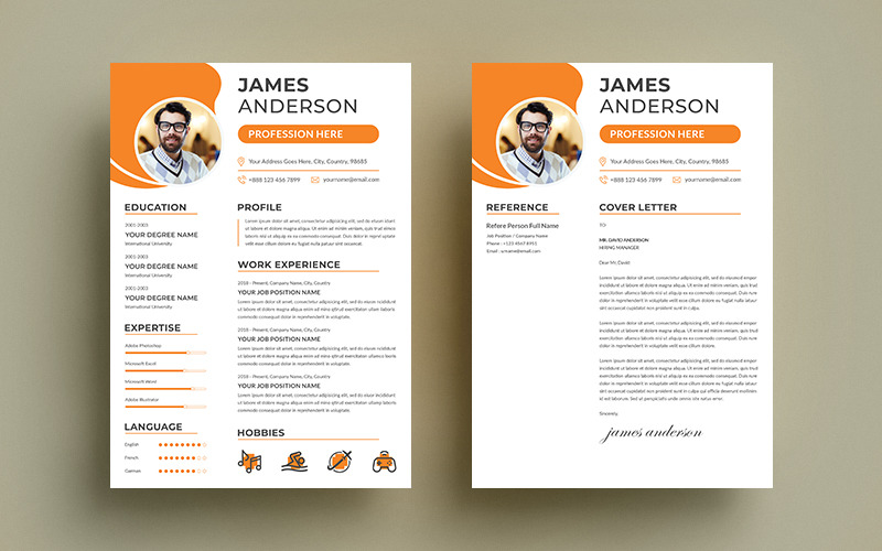Employment James Resume Template