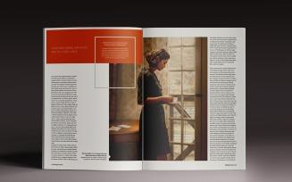 Goliat Magazine Template