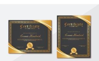 Connie Kendrick 2 Certificate Template