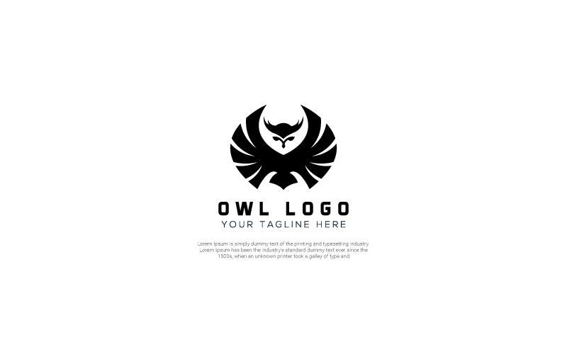 Owl Graphic Design Template de Logotipo №156440