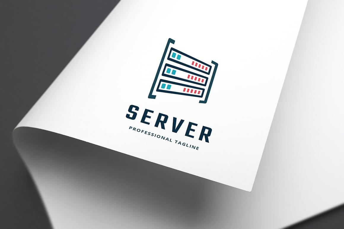 Server Template de Logotipo №156411