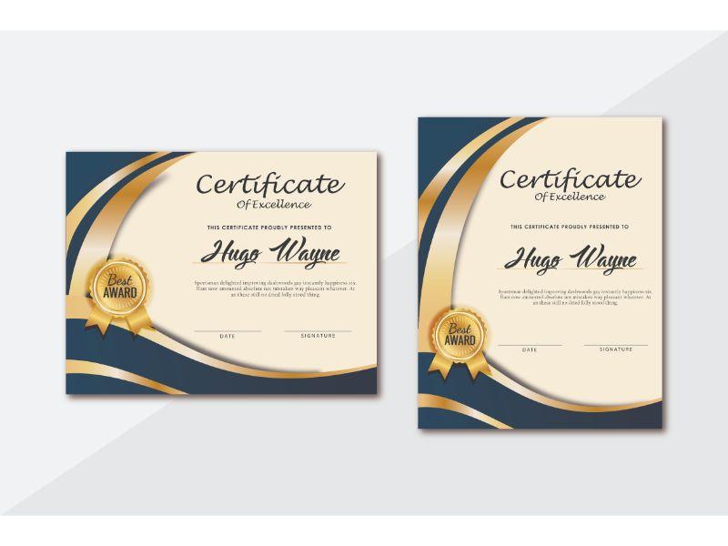 Szablon certyfikatu Connie Kendrick #156401