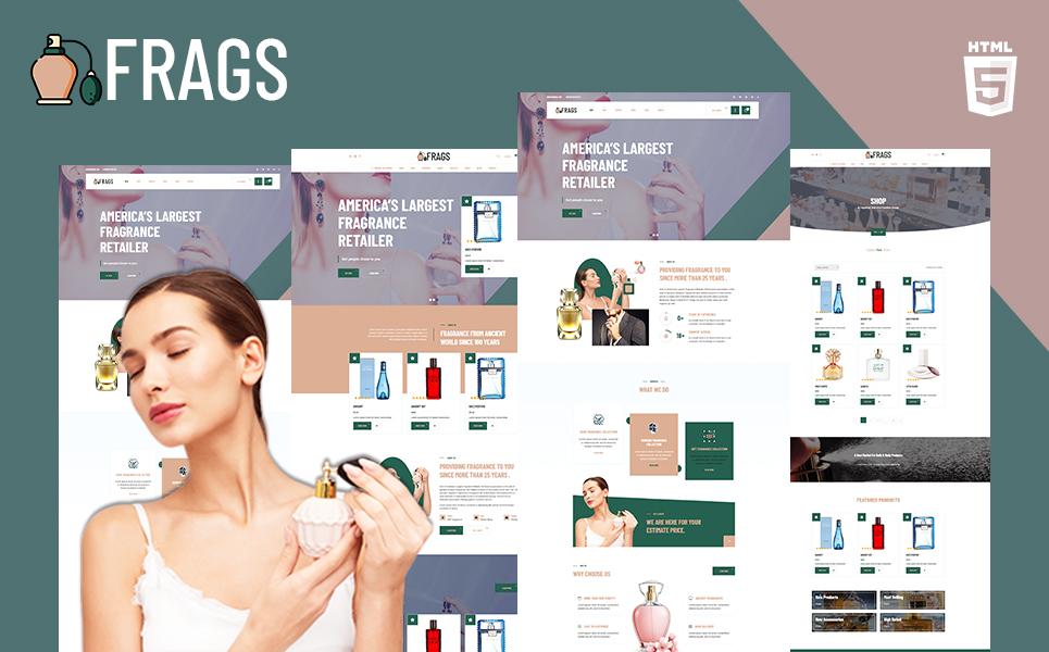 Reszponzív Fragz   Perfume and Cosmetics Store Weboldal sablon 156696