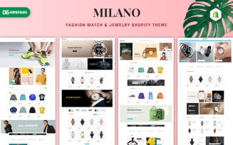 Milano - Fashion & Accessories Shopify Theme