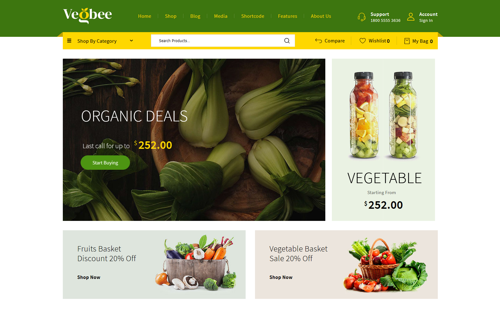 Vegbee - Vegetable & Grocery №156703