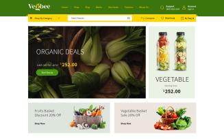 Vegbee - Vegetable and Grocery WooCommerce Theme