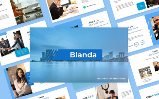 Blanda Business Creative Slide