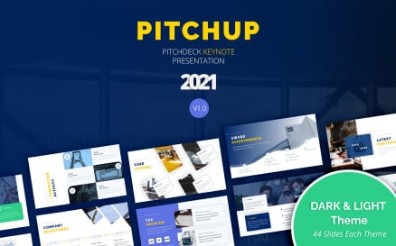 Pitchup – Pitch Deck Keynote Template
