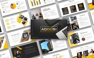 Addobi – Creative Business Presentation - Keynote template