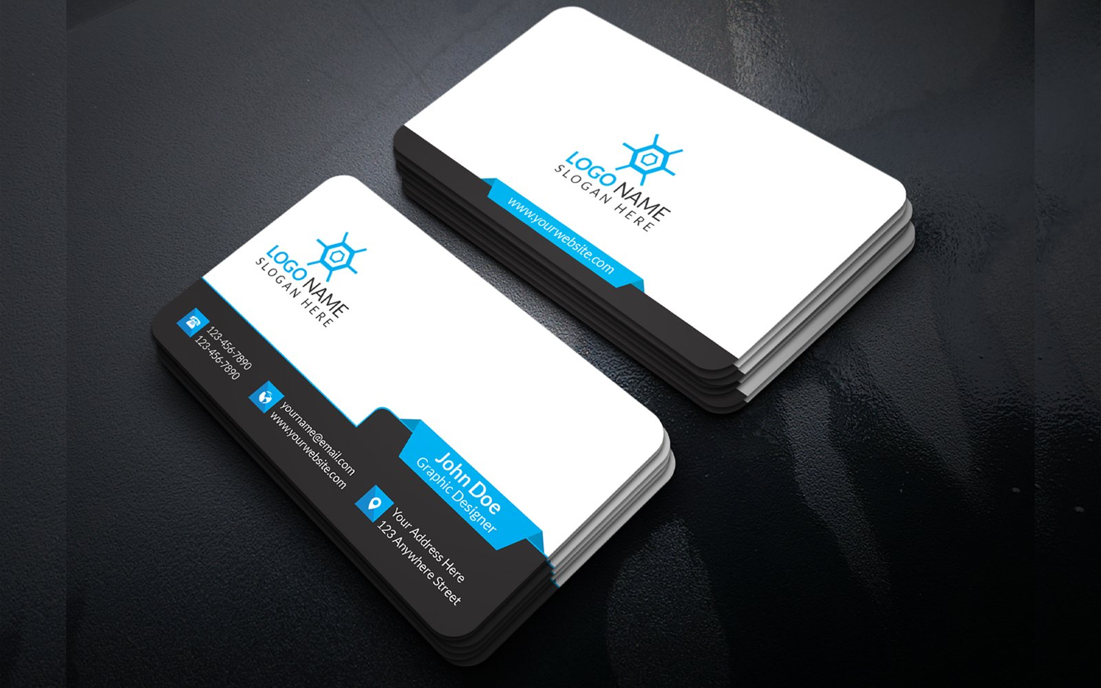 """Business Card Design"" 企业设计模板 #156857"