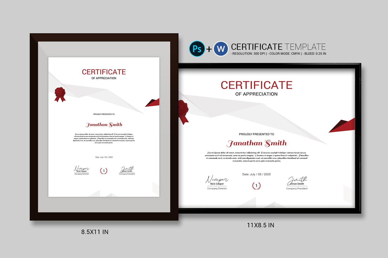 Janathan Appreciation Certificate Template 156829