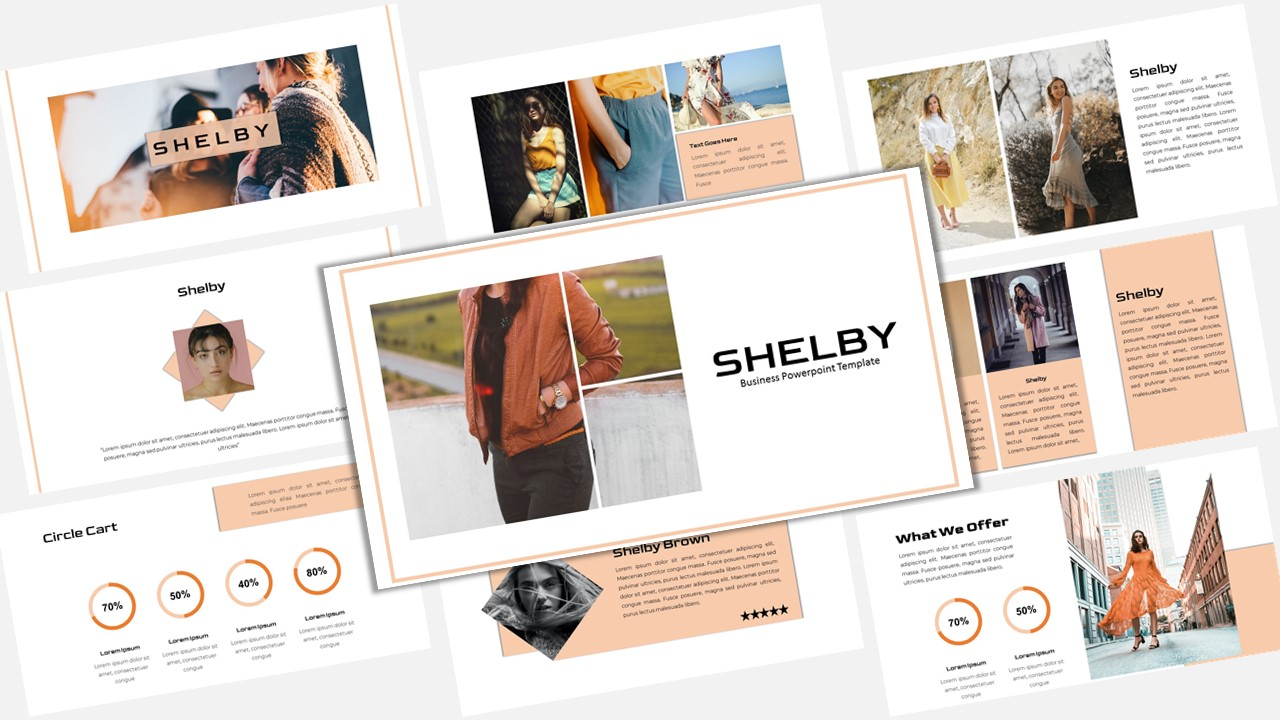 "Modello Keynote #156881 ""Shelby - Creative Business"""