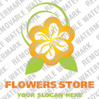 Flowers Logo  Template 15706