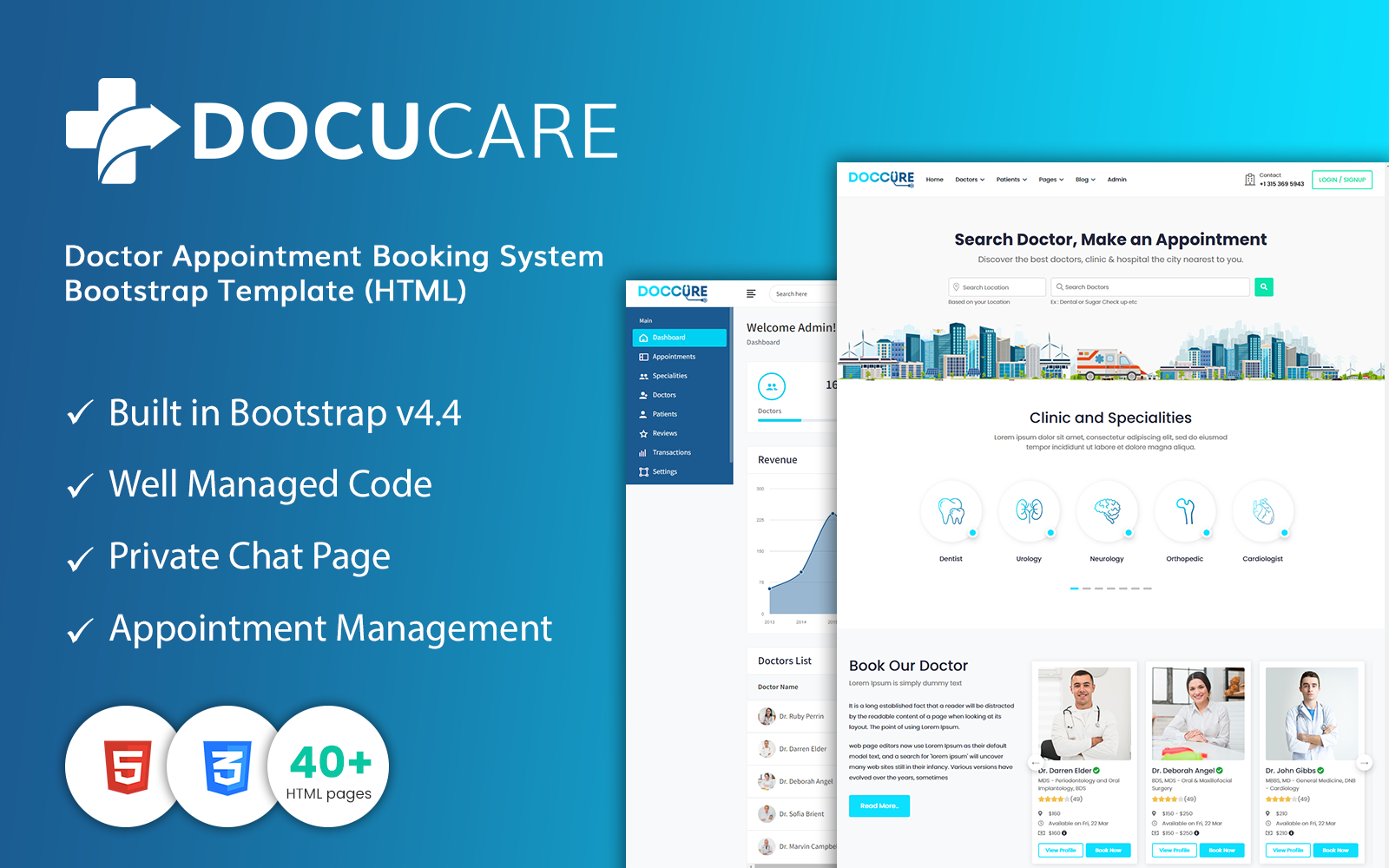 Docucare - Doctor Appointment Booking