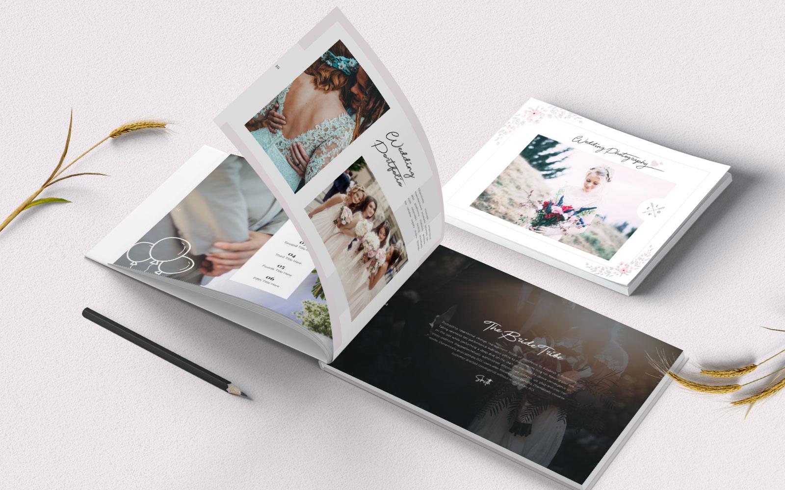 """Unternehmensidentität Vorlage namens """"Graphic Designer Portfolio Brochure"""" #157422"""