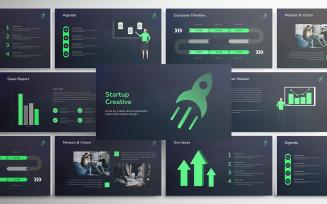 Startup Creative Pitch Deck