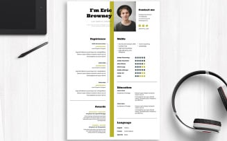 CV with inDesign