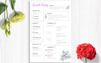 Adobe inDesign CV Free Resume Template