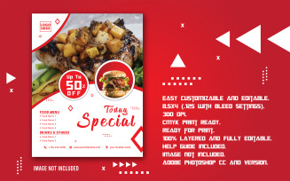 Special Promotional Food Offer