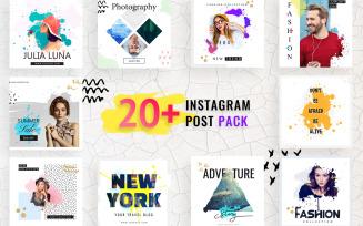 Fashion Instagram Post Social Media Template