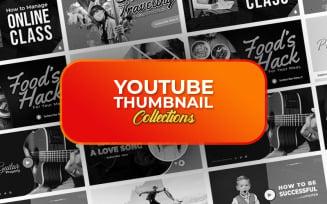 Youtube Thumbnail PSD Template