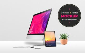 Desktop and Tablets
