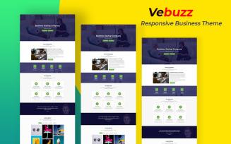 VeBuzz - Responsive Business Service Website