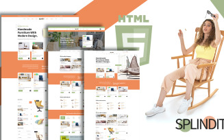 Splindit - Furniture Shop Website Template