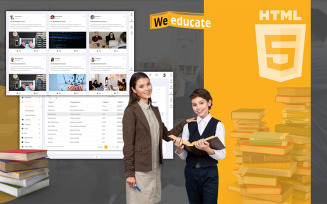 Weeducate Education and E-Learning Admin Template