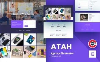 Atah - Agency Template - Elementor Kit