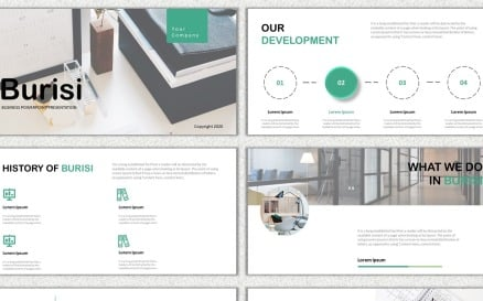 Burisi PowerPoint template PowerPoint Template