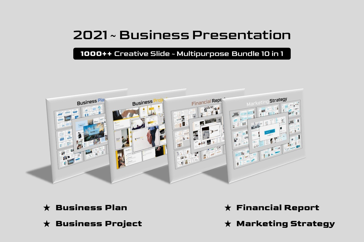 Business Bundle 10 in 1 №157920