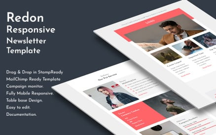 Redon - Responsive Email Newsletter Template