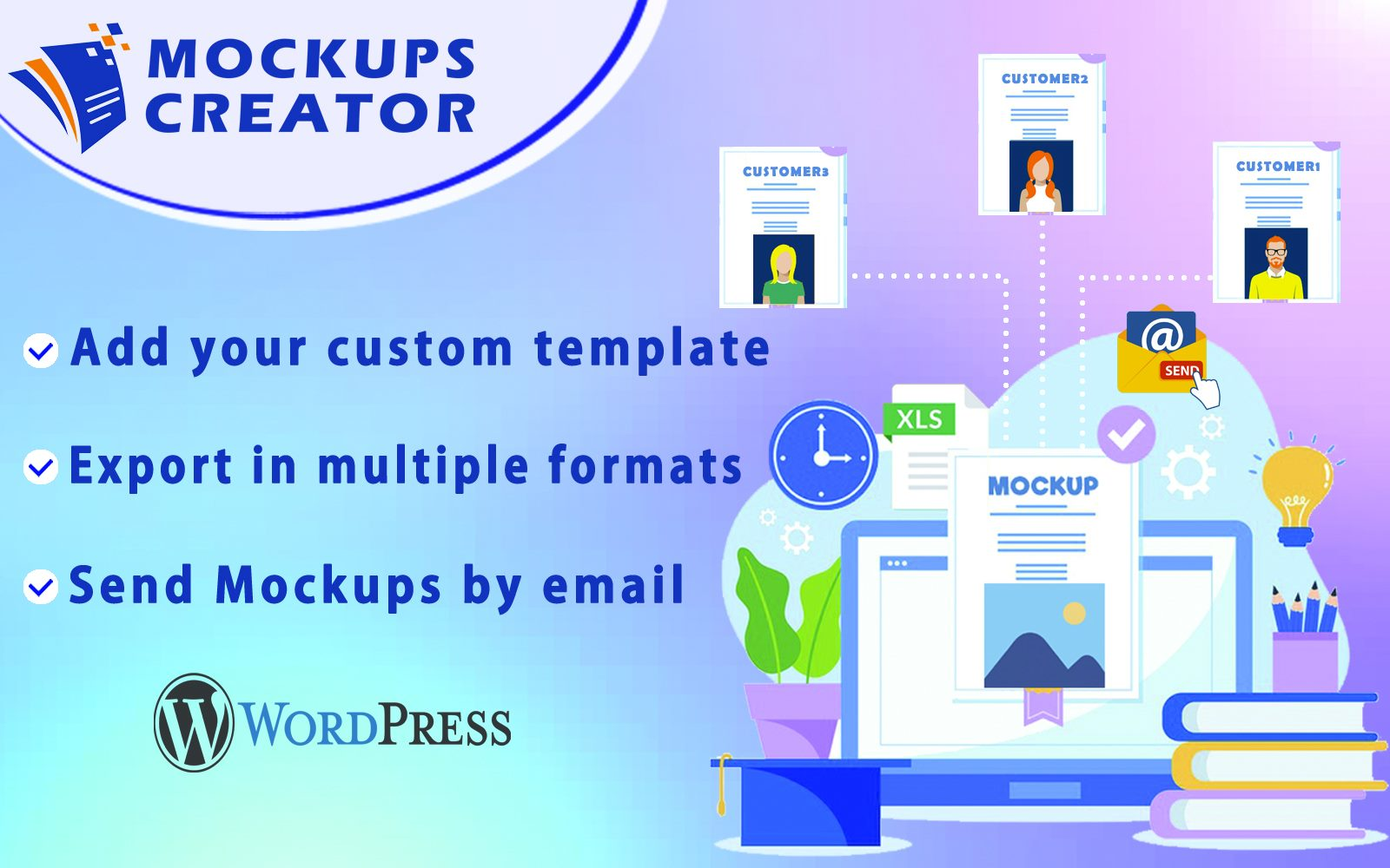 "WordPress Plugin ""Mockups Creator - Automatic  Mockups Generator"" #157939"