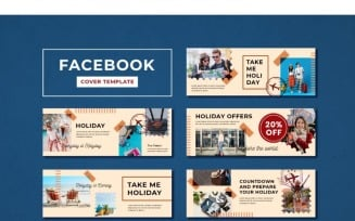 Facebook Cover Holiday Offers Social Media Template