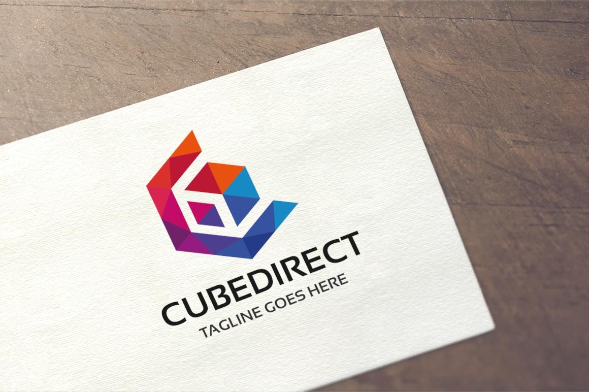 Cube Direct Logo #158015