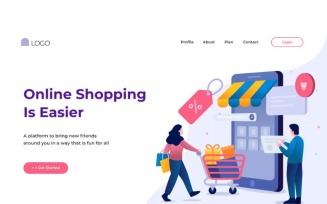 ILP 34 Online Shopping Is Easier - Illustration