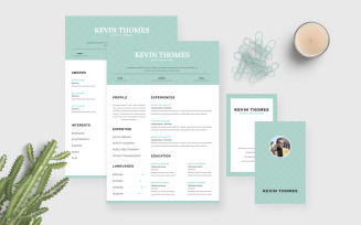 Marketing CV Resume Template