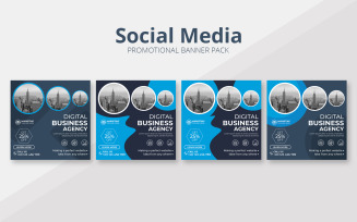 Promotional Business Banner Set Theme