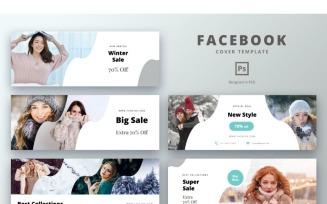 Facebook Cover Winter Sale