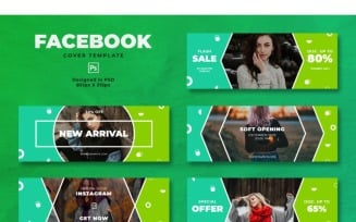 Facebook Cover New Arrival