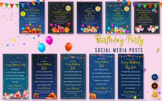 Birthday Party Posts